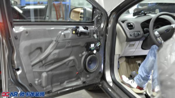 欧卡改装网,改装案例,福特致胜改装音响