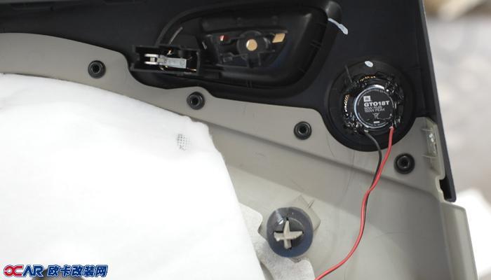 欧卡改装网,改装案例,福特翼虎改装音响与隔音升级