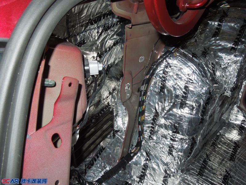 欧卡改装网,改装案例,菲亚特菲翔全车隔音
