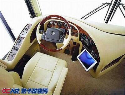欧卡改装网,改装案例,金龙大巴房车与内饰改装
