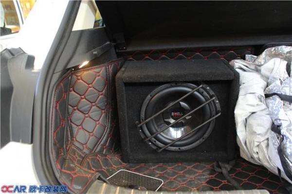 吉利帝豪GS改德国ETON伊顿汽车音响高清图片