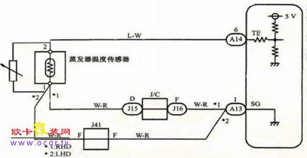 11年阳光发动机电路图